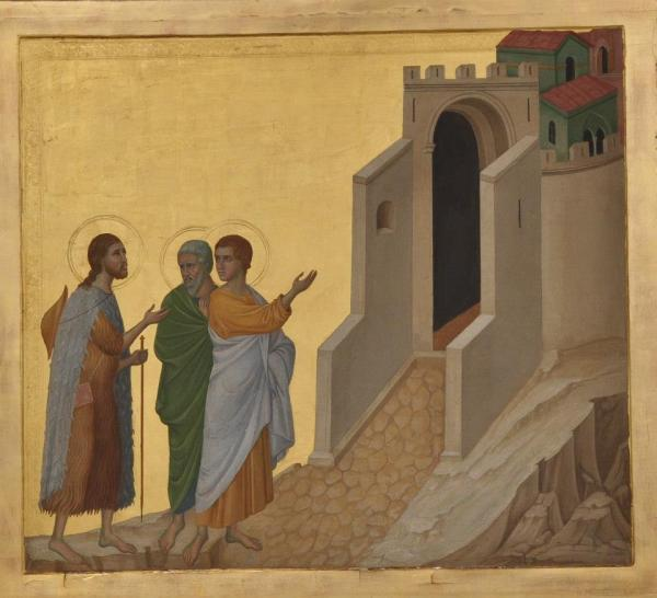 Nicolas_Lokhoff._Copy_of_the_picture._The_Road_to_Emmaus_by_Duccio_di_Buoninsegna